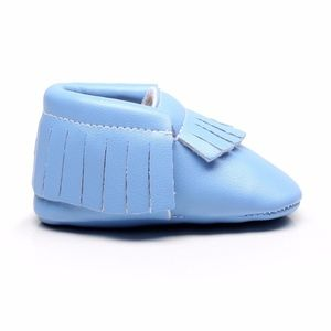 Other - 🐰Easter Periwinkle blue soft baby toddler moccs